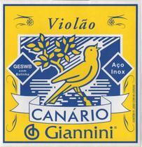 Encordamento Canario Violao Aco C/ Bolinha - Giannini