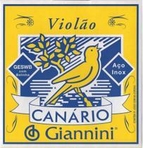 Encordamento Canario Violao Aco C/ Bolinha - Giannini -