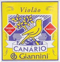 Encordamento Canario Violao Nailon C/ Bolinha - Giannini