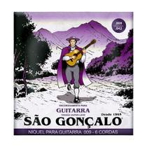 Encordoamento 0.9 009 Super Leve para Guitarra - São Gonçalo -