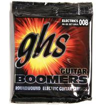 Encordoamento 008 Roundwound Electric Para Guitarra GBUL GHS -