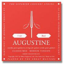 Encordoamento augustine violao nylon classic red wms00006 -