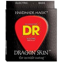 Encordoamento Baixo 5 Cordas 040 DSB5-40 Dragon Skin Clear Coated Bass - DR -