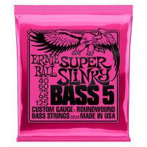 Encordoamento Baixo 5 Cordas 040 Ernie Ball Super Slinky P02824 -