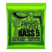 Encordoamento Baixo 5 Cordas .045-130 Reg Slinky Niquel Ernie Ball P02836 -