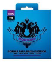 Encordoamento Baixo 5 Cordas 045 Monterey EMB545 - Solez