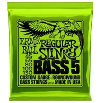 Encordoamento Baixo 5c Regular Slinky Niquel Ernie Ball -