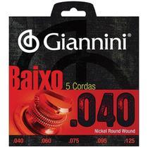 Encordoamento Baixo Elétrico 5 Cordas Geebrl5 Giannini -