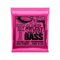 Encordoamento Baixo Ernie Ball 2834 045 Super Slink 4 cordas -