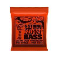 Encordoamento Baixo Ernie Ball 2838 032.130 6 strings slinky - Izzo