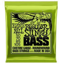 Encordoamento Baixo Regular Slinky Niquel P02832 Ernie Ball -