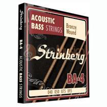 Encordoamento Baixolão 4 Cordas Strinberg BA4 -