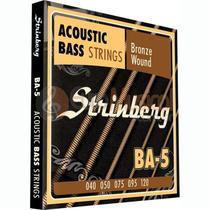 Encordoamento Baixolão 5 Cordas Strinberg BA5 -