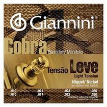 Encordoamento Bandolim Tensão Leve Giannini Cobra GESBN -