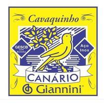 Encordoamento Canario Cavaquinho C/ Bolinha GESCB - Giannini