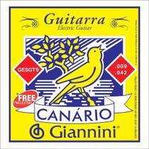 Encordoamento Canario Guitarra 009 Giannini - Canário