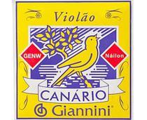 Encordoamento Canário para violão Náilon  - GIANNINI -