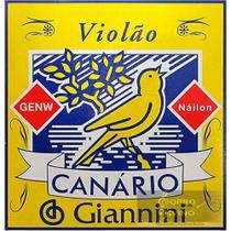 Encordoamento Canario Violão Nylon Sem Bolinha Giannini - Canário