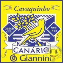 Encordoamento Cavaquinho Aço Inox Canário Giannini - Canario