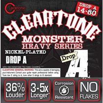 Encordoamento Cleartone Guitarra Heavy Series Drop A .014 .080 -