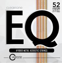 Encordoamento Cleartone Violao Aco Custom Light Hybrid Metal -
