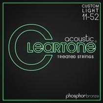 Encordoamento Cleartone Violao Aco Phos-Bronze Custom Light -