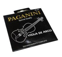 Encordoamento Completo Para Viola De Arco Paganini Pe970 -