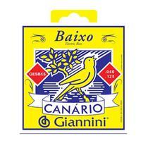 Encordoamento Contra Baixo 5 Cordas Canario 040 GESBX5 - Giannini