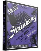 Encordoamento Contra Baixo 5 Cordas Strinberg 045 Sb55 -