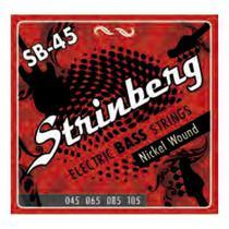 Encordoamento Contra Baixo Strinberg Sb45 -