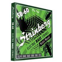 Encordoamento Contra Baixo Strinberg Sb60 -