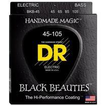 Encordoamento Contrabaixo DR Black Beauties 045 4 Cordas Preto - Dr Strings