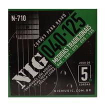 Encordoamento Contrabaixo Nig 5 cordas .040/.125 -