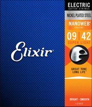 Encordoamento Corda De Guitarra Elixir Nanoweb 12052 010 Usa -