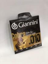 Encordoamento/Corda Giannini 010 P Violão Aço -