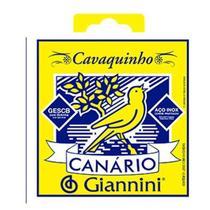 Encordoamento Cordas Canario Giannini Cavaquinho Aço Gescb -