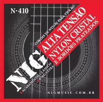 Encordoamento Cordas NIG Violão Nylon Tensão Alta N410 -