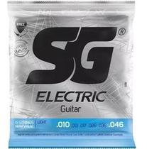 Encordoamento Cordas P Guitarra Eletrica 010 Sg + Mi Extra -