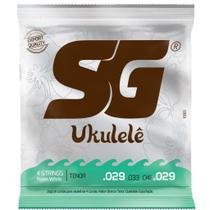 Encordoamento Cordas Para Ukulele Sg Tenor Nylon -