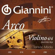 Encordoamento Cordas Para Violino 4/4 Giannini -
