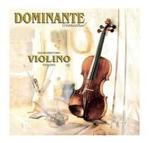 Encordoamento Cordas Para Violino  4x4 Dominante C/ Nf -