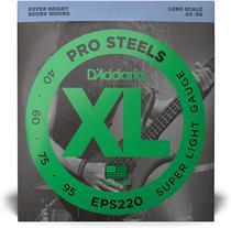 Encordoamento Daddario p/ Baixo 4 Cordas EXL220 040 -