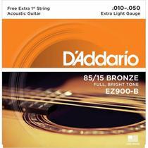 Encordoamento Daddario p/ Violão Aço EZ900-B+PL010 -