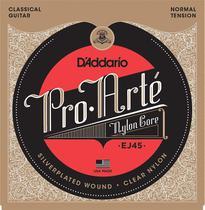 Encordoamento Daddario Pro Arte violão Nylon Ej45 media NF-e -