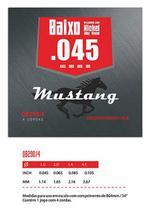 Encordoamento De Baixo 4 Cordas 045 Mustang Nickel  Qb290-4 - Phx