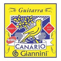 Encordoamento de Guitarra Canário Giannini 010 -