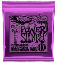 Encordoamento de Guitarra Ernie Ball Power Slink 011 P02220 -