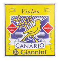 Encordoamento de Nylon para Violão Canário Giannini Genwb c/Bolinha -