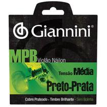 Encordoamento de Nylon para Violão Giannini Genwbs sem Bolinha -
