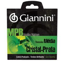 Encordoamento de Nylon para Violão Giannini Genws  sem Bolinha -
